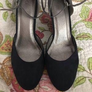 Navy/Grey wedge